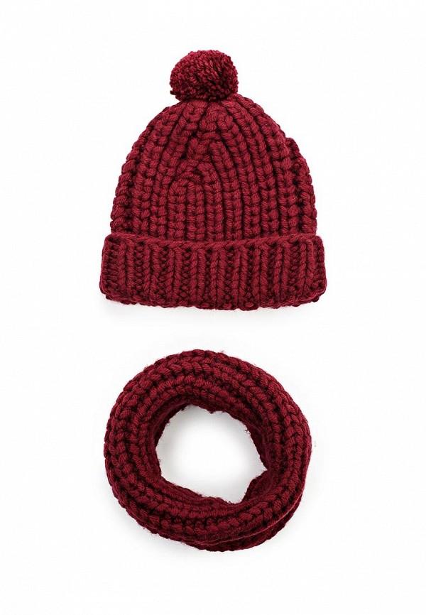 Комплект шапка и шарф снуд Fete 409922