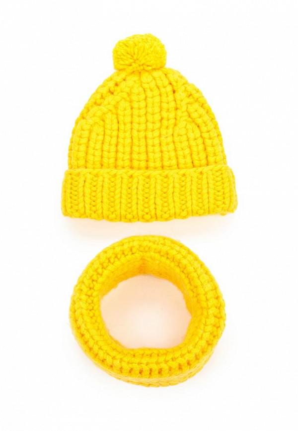 Комплект шапка и снуд Fete 409925