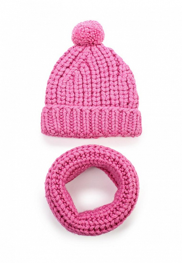 Комплект шапка и шарф снуд Fete 409928