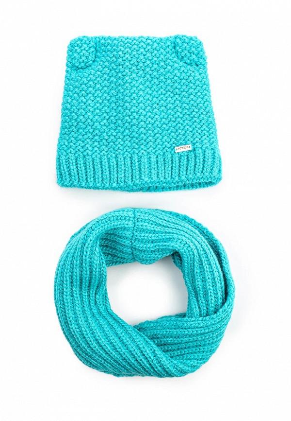 Комплект шапка и снуд Fete 411035
