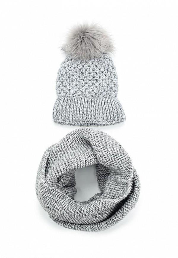 Комплект шапка и снуд Fete Fete FE009CWTUK75