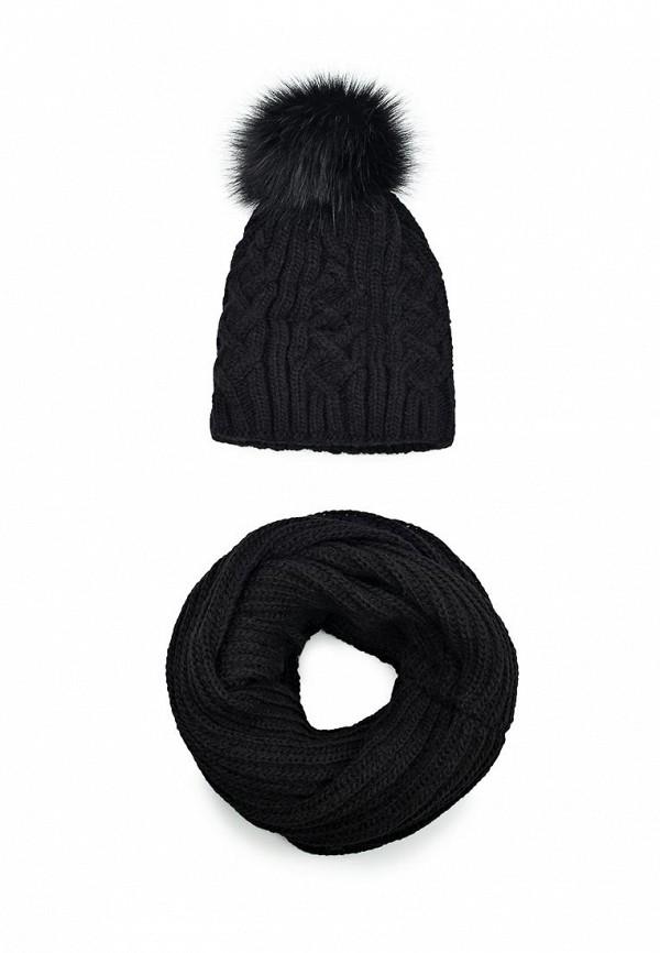 Комплект шапка и снуд Fete Fete FE009CWTUK78 комплект шапка и снуд fete fete fe009cwxqy72