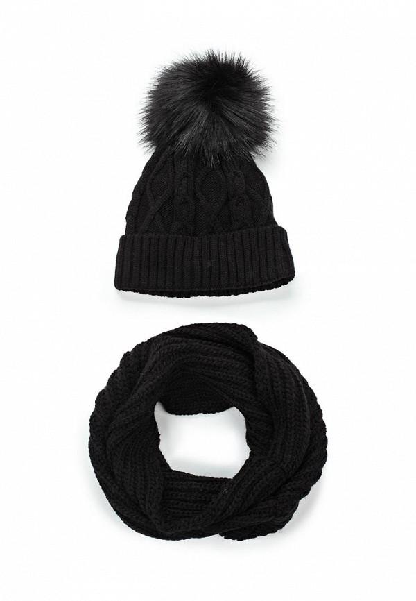 Комплект шапка и снуд Fete Fete FE009CWTUK81 комплект шапка и снуд fete fete fe009cwxqy72