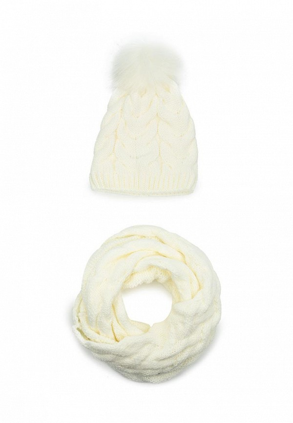 Комплект шапка и снуд Fete Fete FE009CWTUK83 комплект шапка и снуд fete fete fe009cwxqy72