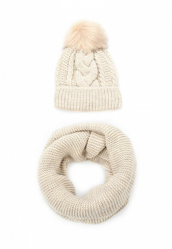 все цены на Комплект шапка и снуд Fete Fete FE009CWTUK95 онлайн