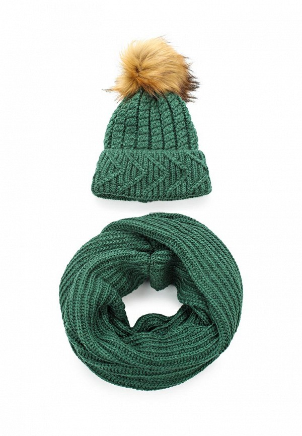 Комплект шапка и снуд Fete Fete FE009CWXRB32 комплект шапка и снуд fete fete fe009cwxqy72