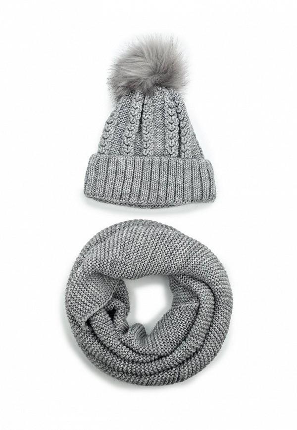 Комплект снуд и шапка Fete Fete FE009CWXRB50 комплект шапка и снуд fete fete fe009cwxqy72