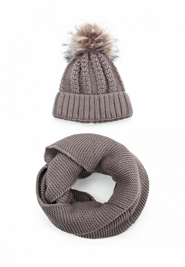 Комплект шапка и снуд Fete Fete FE009CWXRB51 комплект шапка и снуд fete fete fe009cwxqy72