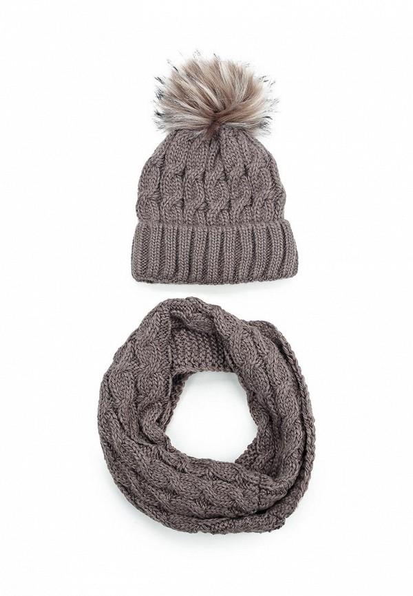 Комплект шапка и снуд Fete Fete FE009CWXRB62 комплект шапка и снуд fete fete fe009cwxqy72