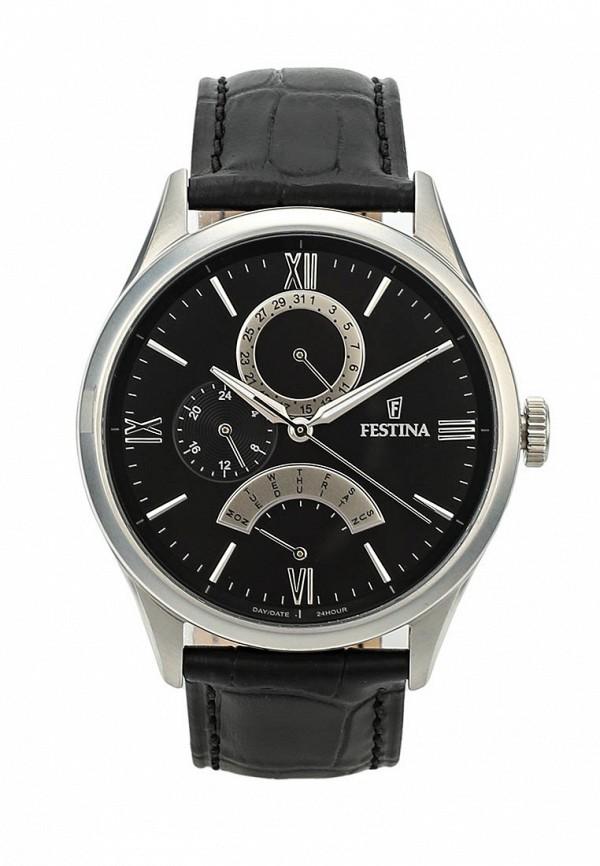 Купить Часы Festina, FE023DMRZG42, черный, Весна-лето 2018