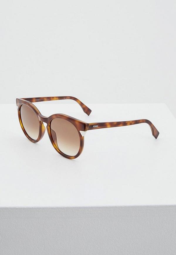 Очки солнцезащитные Fendi Fendi FE368DWHHE61 стоимость