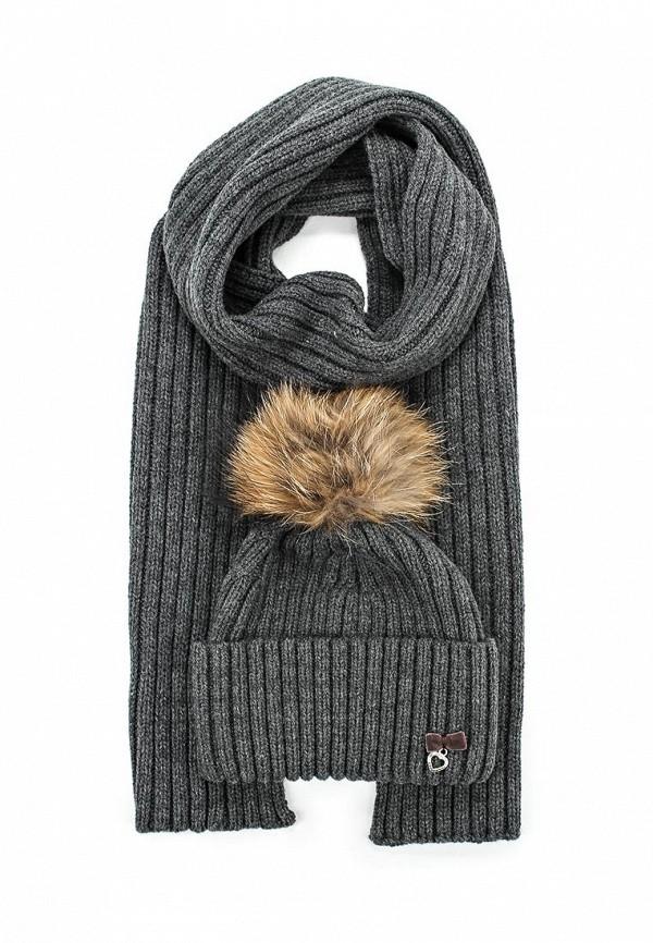 Комплект шапка и шарф Ferz Компл.Акапелла 21/61777F-33