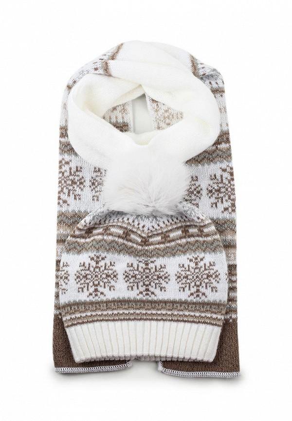 Комплект шапка и шарф Ferz Компл.Аляска 21/61586D-11/35