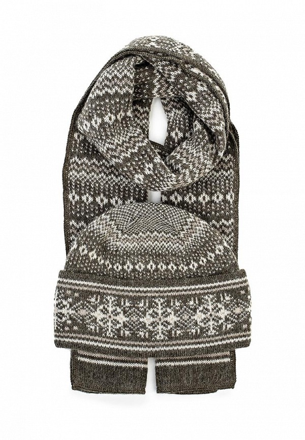 Комплект шапка и шарф Ferz Компл.Атлантика 21/61908D-35/61