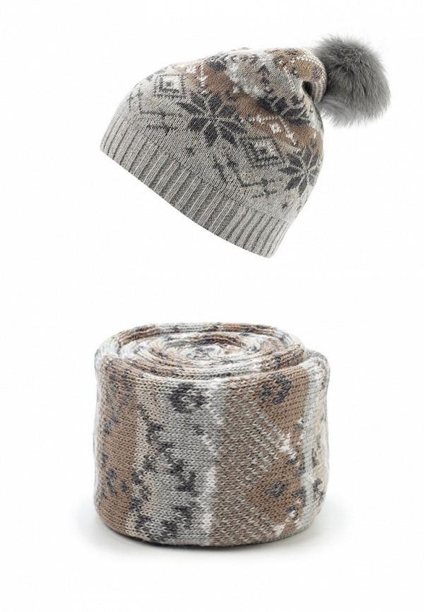 Комплект шапка и шарф Ferz Ferz FE913CWGIN76