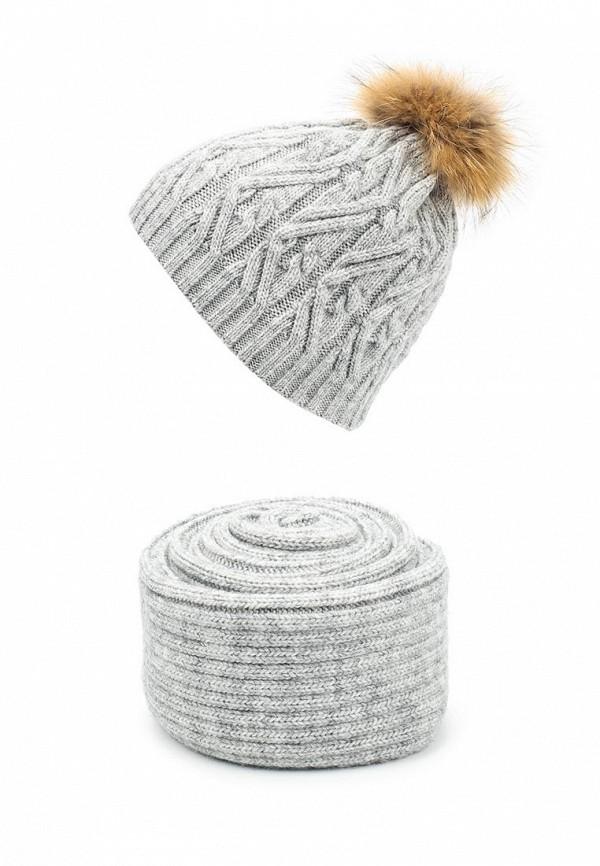 ferz fe913cwgis18 Комплект шапка и шарф Ferz Ferz FE913CWGIN82
