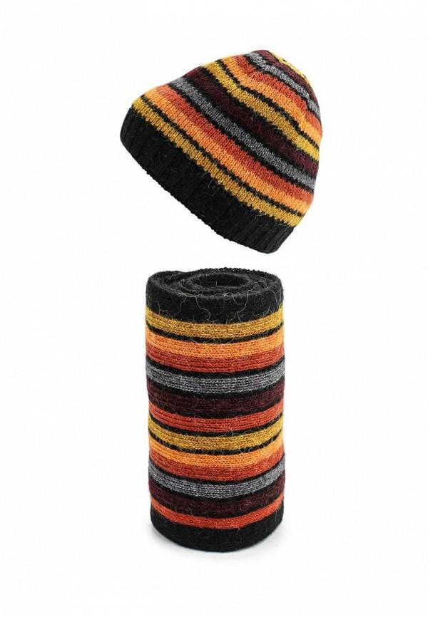 Комплект шапка и шарф Ferz Компл.Пэч-Ворк 21/61196D-18/45