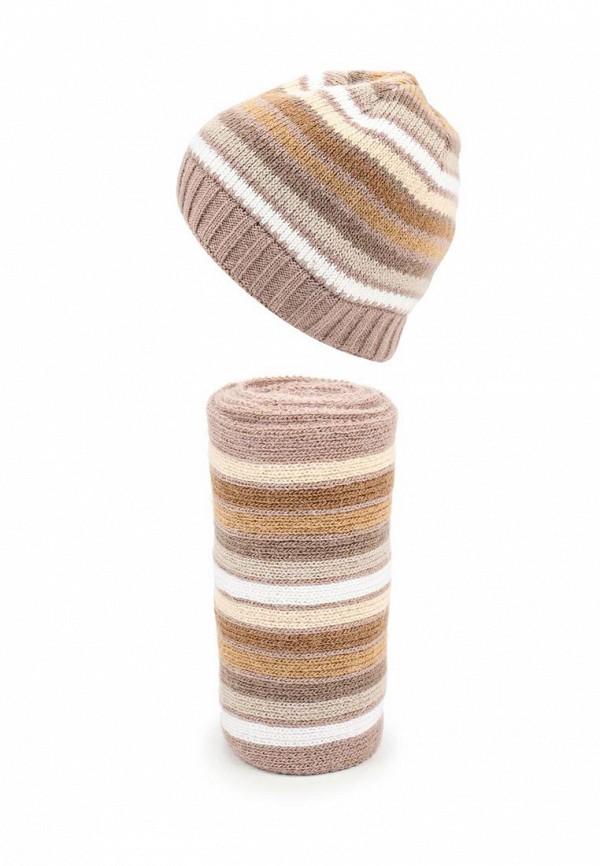 Комплект шапка и шарф Ferz Компл.Пэч-Ворк 21/61196D-61