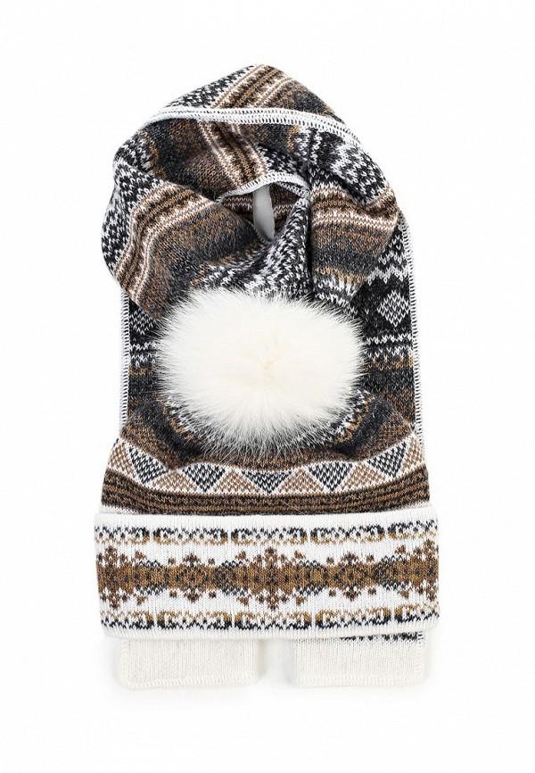 Комплект шапка и шарф Ferz Компл.Швейцария 21/61915D-11/04