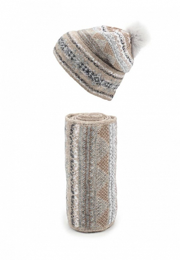 Комплект шапка и шарф Ferz Компл.Швейцария 21/61915D-61/35