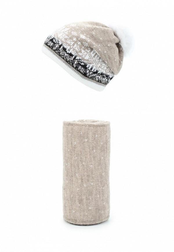 Комплект шапка и шарф Ferz Ferz FE913CWMEK48