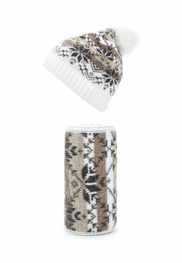 Комплект шапка и шарф Ferz Ferz FE913CWMYF37