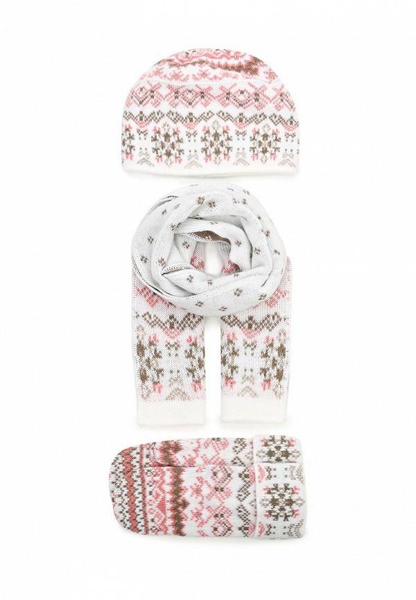 Комплект шапка, шарф и варежки Ferz 2018