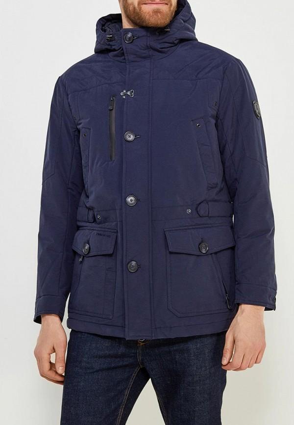 Купить Куртка утепленная Finn Flare, FI001EMAGXS8, синий, Весна-лето 2018