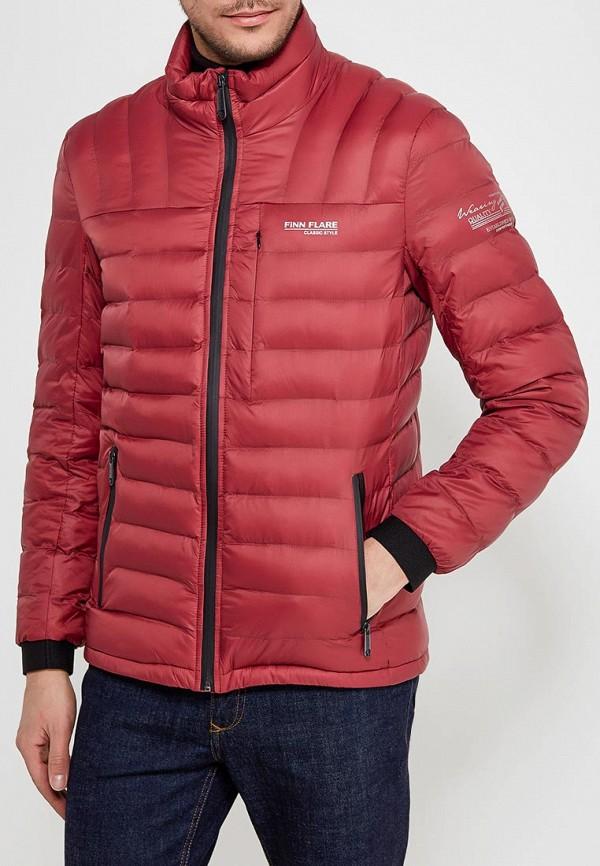 Куртка утепленная Finn Flare, FI001EMAGXU1, бордовый, Весна-лето 2018  - купить со скидкой