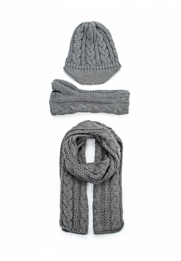 Комплект шапка, шарф и митенки Fiorella Rubino I63034E008DA