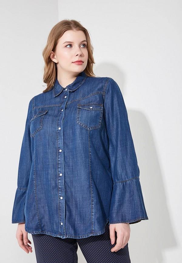 Фото Рубашка джинсовая Fiorella Rubino. Купить с доставкой