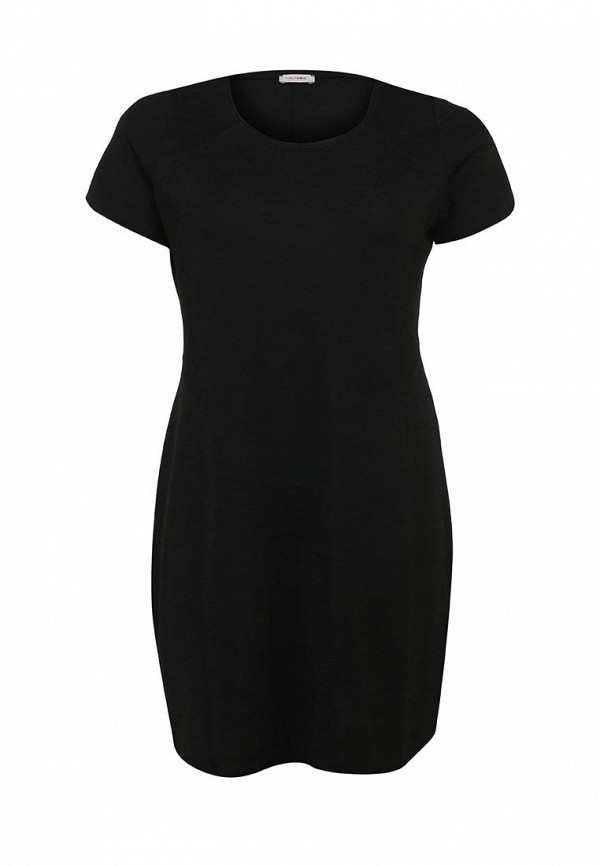 Черное осеннее платье Fiorella Rubino