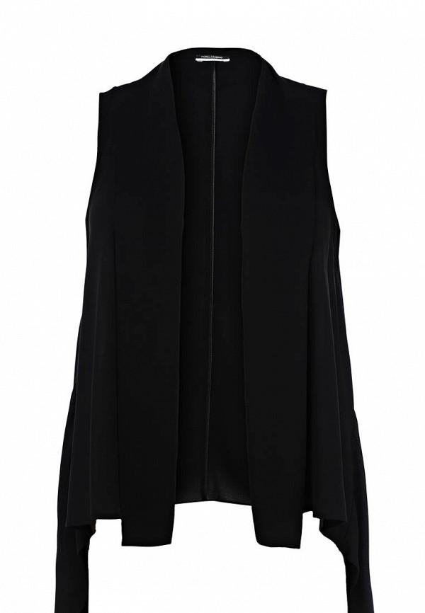 Женский черный жилет Fiorella Rubino