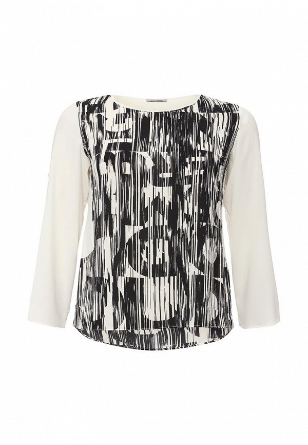 Черная блузка Fiorella Rubino