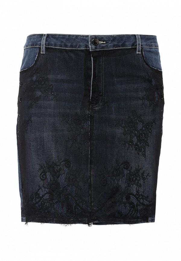 Джинсовая юбка Fiorella Rubino I61414F003XJ