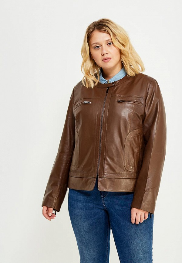 Куртка кожаная Fiorella Rubino Fiorella Rubino FI013EWWSF74