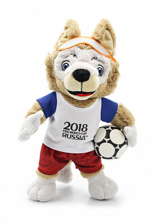 FIFA-2018 мягк.игр.Волк Забивака,40см,бирка,пакет