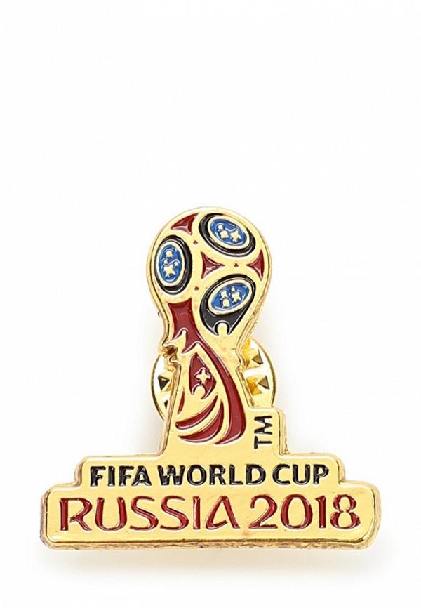 Значок 2018 FIFA World Cup Russia™ 2018 FIFA World Cup Russia™ FI029DUBAGS1 жидкость vape face fifa 100мл 0мг