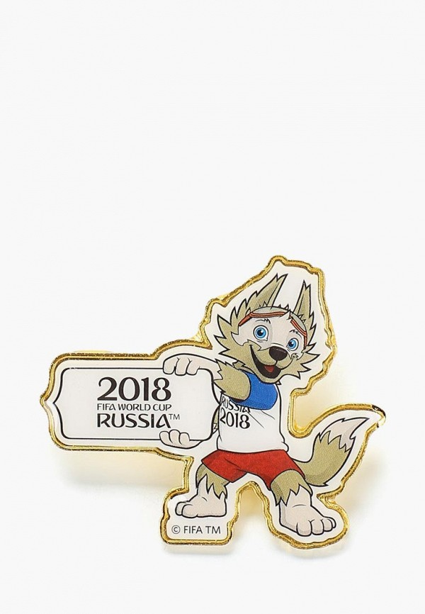 Значок 2018 FIFA World Cup Russia™ 2018 FIFA World Cup Russia™ FI029DUBAGT1 фигурка 2018 fifa world cup russia™ 2018 fifa world cup russia™ fi029dubfhw7