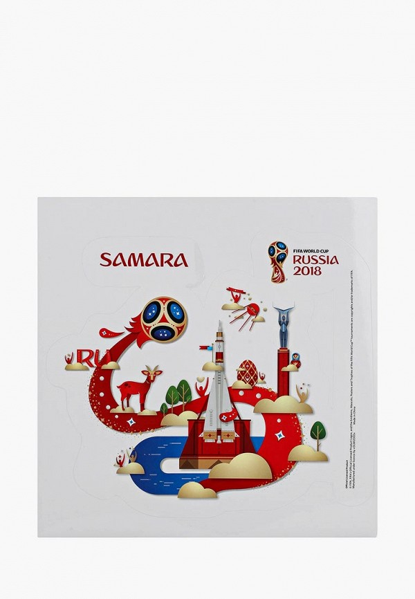 Наклейка 2018 FIFA World Cup Russia™ 2018 FIFA World Cup Russia™ FI029DUBGIL5 adidas 2014 fifa world cup brazuca final rio match ball replica top glider size 5