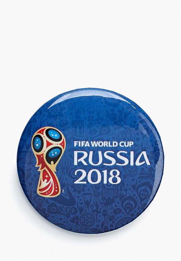 Значок 2018 FIFA World Cup Russia™ 2018 FIFA World Cup Russia™ FI029DUBJVB5 adidas 2014 fifa world cup brazuca final rio match ball replica top glider size 5