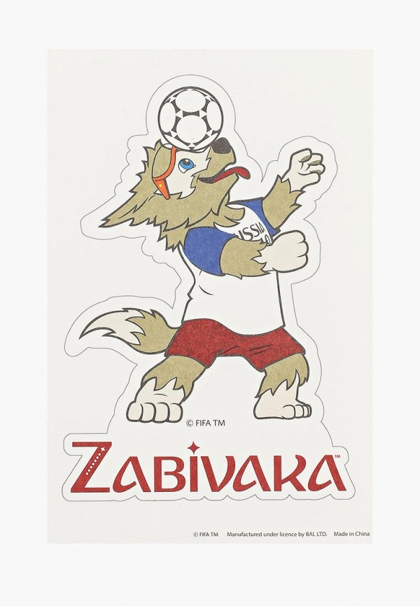 Фото Временная татуировка 2018 FIFA World Cup Russia™. Купить с доставкой