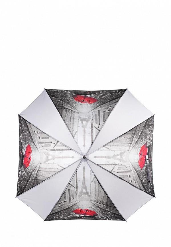 Зонт-трость Flioraj Flioraj FL976DWSMJ55 зонт трость flioraj вокзал полуавтомат серый красный