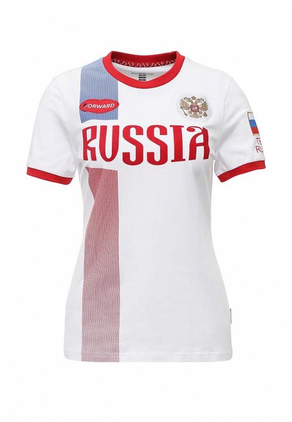 Футболка Forward Forward FO007EWJEF17 forward forward gold ss15 russia cotton ss shirt