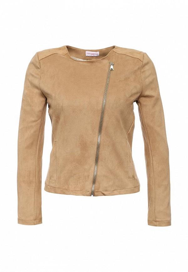 Кожаная куртка Fontana 2.0 ANNALAURA_BEIGE
