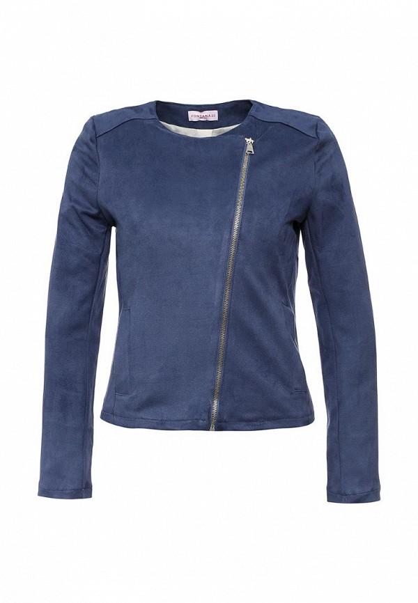 Кожаная куртка Fontana 2.0 ANNALAURA_BLU