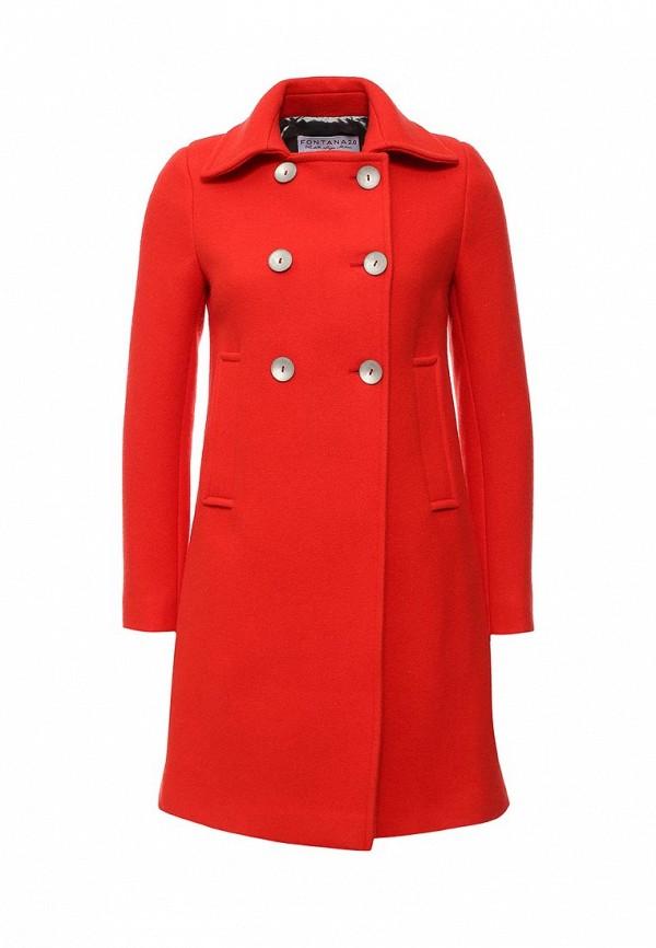 Женские пальто Fontana 2.0 CLARA_ROSSO