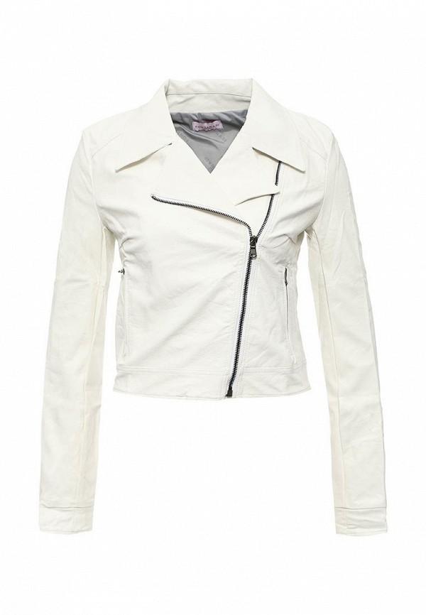 Кожаная куртка Fontana 2.0 CLELIA_BIANCO