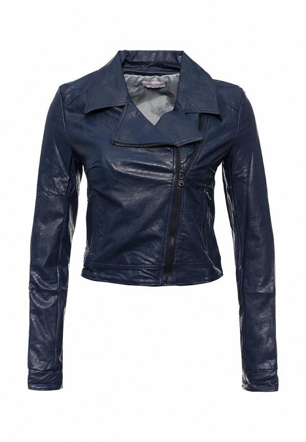 Кожаная куртка Fontana 2.0 CLELIA_BLU