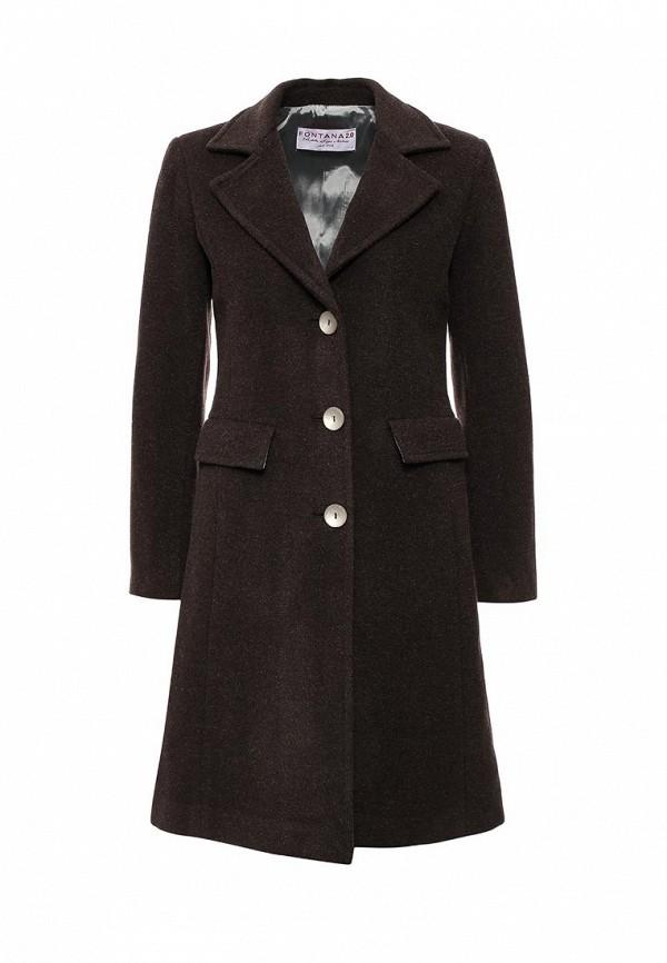 Женские пальто Fontana 2.0 INGRID_MARRONE